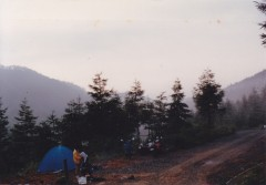初めてのテント