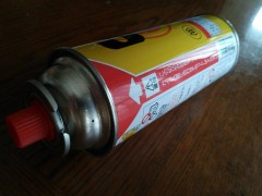 ガスボンベ(CB缶)