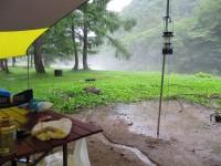 いきなりの大雨