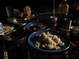 本日の夕食「パエリア」