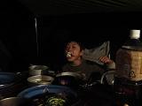 食後のデザート「焼きマシュマロ」