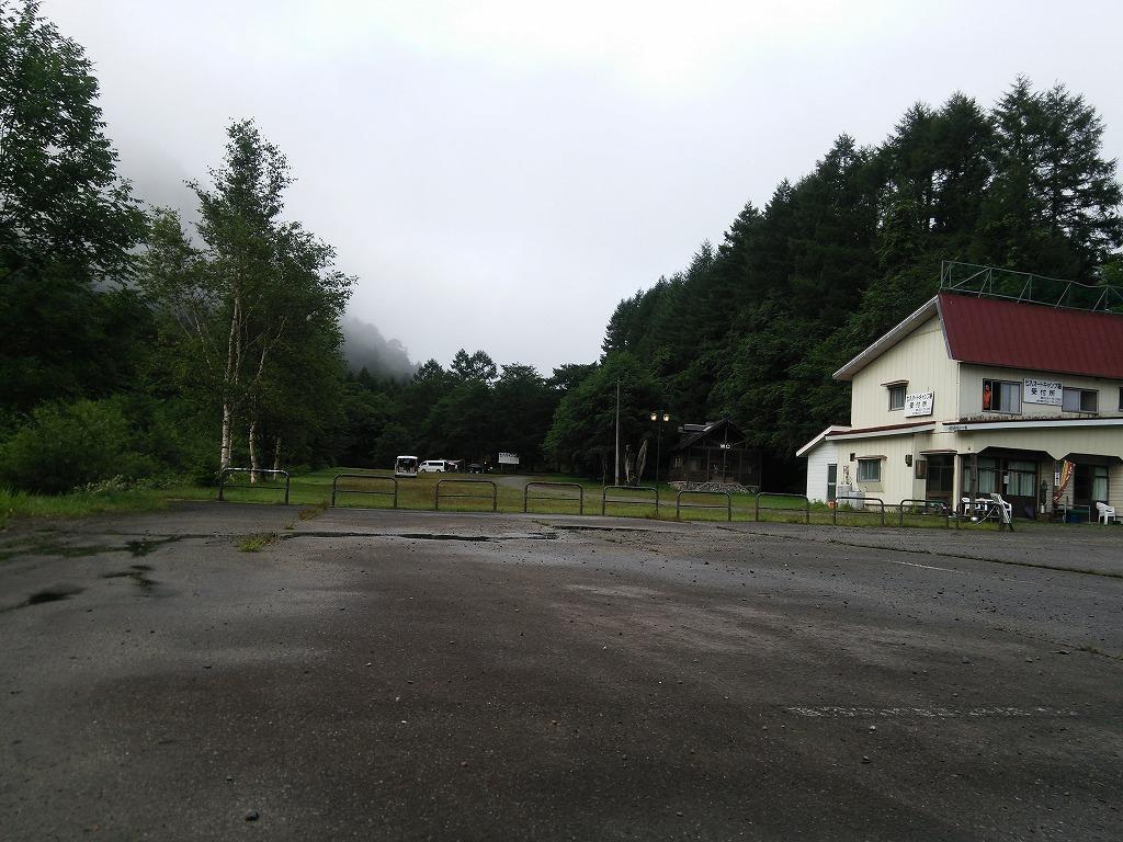 雨上がりの七入オートキャンプ場
