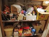 わが家の備蓄棚