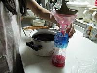 梅酢を少しキープ