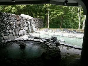 アルザ尾瀬の郷の露天風呂